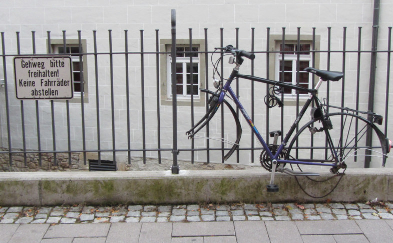 Fahrrad-Abstellplätze: Dauerthema oder Tabu???