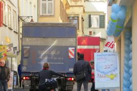 Kontroverses: Au-Brunnen und Lieferverkehr Altstadt