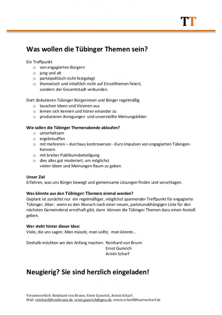 Tübinger Themen - 2GruenEinl-S2