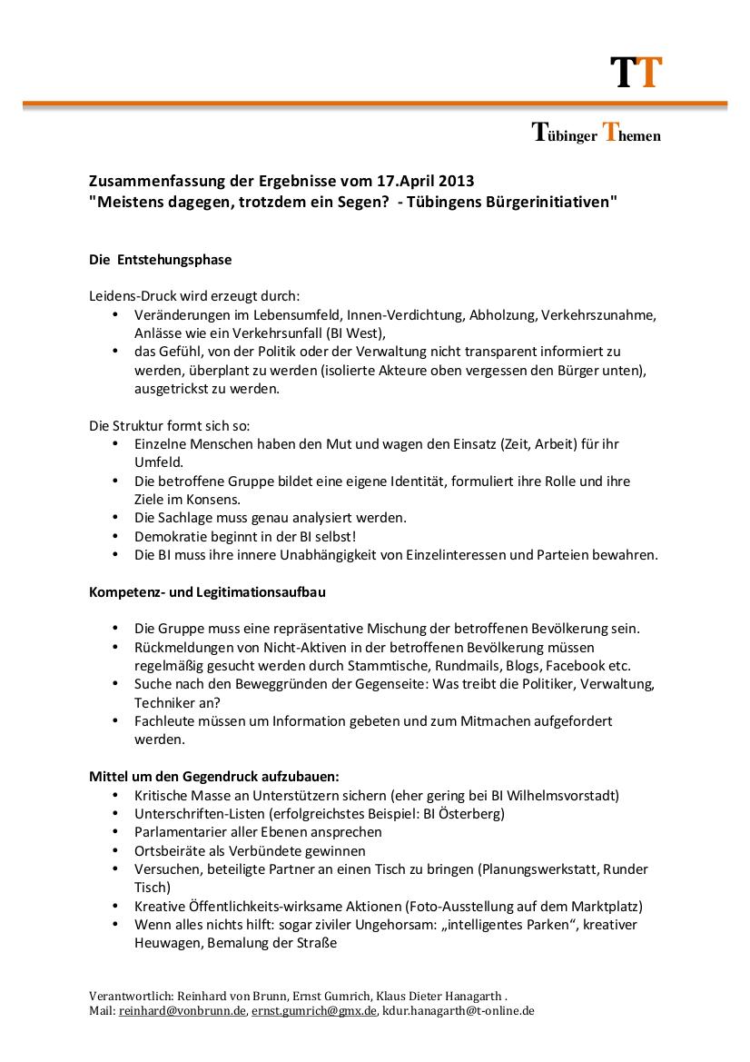 Meistens Dagegen Trotzdem Ein Segen Tübingens Bürgerinitiativen