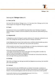 Satzung151013-S1 Tübinger Liste