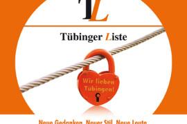 Das Herz auf dem rechten Fleck: die Wahlbroschüre der Tübinger Liste