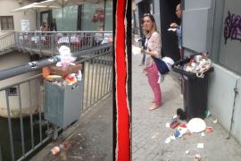 Wir fordern: die Null-Müll-Kampagne