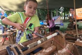 Holzwerkstatt: 4. bis 6. Oktober, täglich von 10 – 17 Uhr