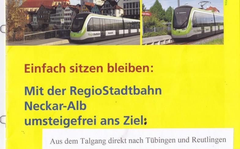 Stadtbahn: vier wichtige Infos und Gelächter