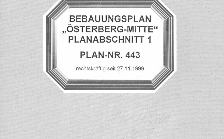 """""""Grüne"""" Stadt wirft Bebauungsplan von 1999 über den Haufen?"""