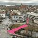 Nur für Räder: Steinlachbrücke