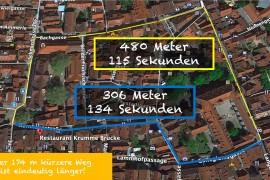 Kornhausstraße: Zeitgewinn?