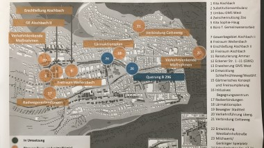 Weststadt: einige Projekte nehmen Gestalt an