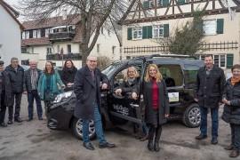 Hirschau: neues Bürgerauto!