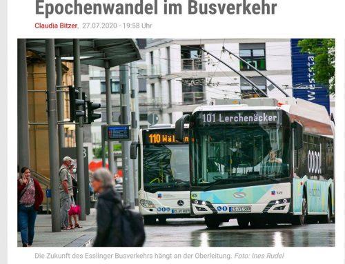 Esslingen hat ab 2024 eine 100% elektrische Busflotte.
