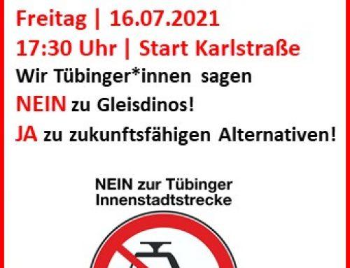 Herzliche Einladung zur Demo gegen die Innenstadtstrecke!