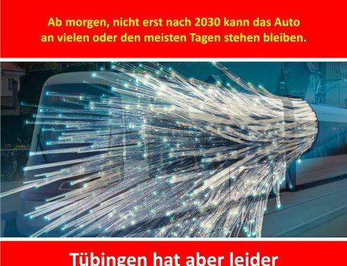 Tübingens viel zu lange Leitung…